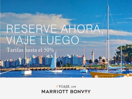 Hoteles Marriott en Uruguay. Tarifas hasta 50% Off.