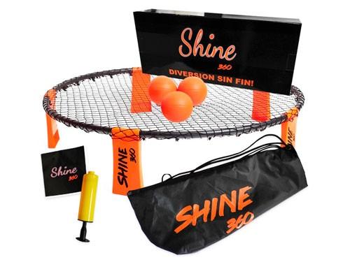 Shine 360 Kit Con Mochila 3 Pelotas Juego Deporte