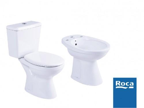 Roca Capea Juego Bidet+deposito+inodoro+asiento