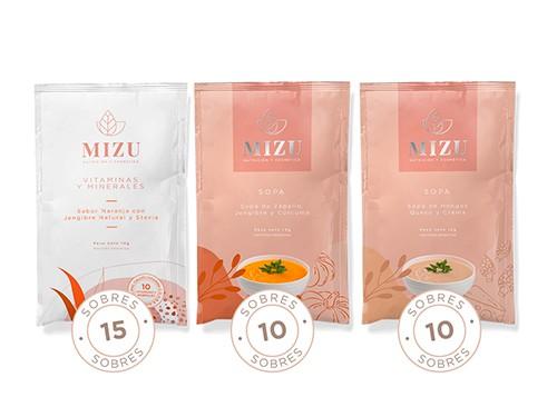 Combo Energy & Immunity + Sopas Funcionales, Dietéticas, Gourmet MIZU