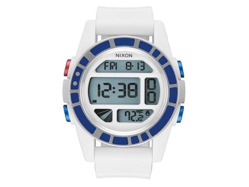 Reloj Hombre Modelo Unit Star Wars R2d2 White NIXON