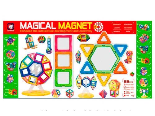 Bloques Magnéticos 52 pcs 1372763 Shine