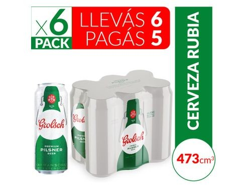 Cerveza Grolsch 473 Ml Six Pack