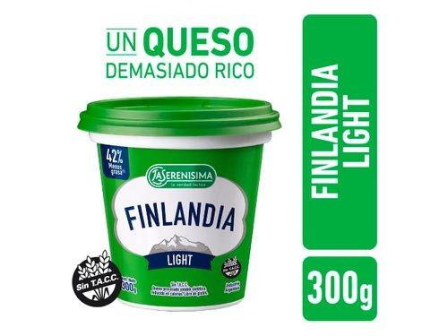 Queso Untable Finlandia Light La Serenisima 300 Gr
