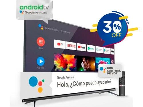 """LED Smart Tv 50"""" Uhd 4k Android Tcl (L50p8m)"""