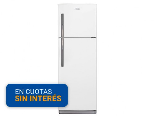 Heladera con Freezer Patrick HPK135B 264 Litros