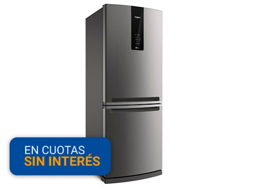 Heladera con Freezer No Frost Whirlpool 443 Litros WRE-57K1 combi