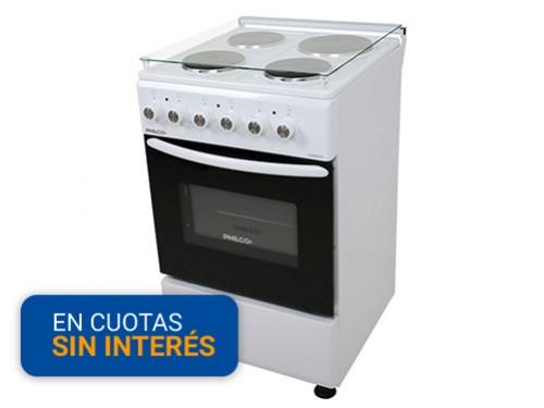 Cocina Philco electrica PHCE051B Bl 50cm