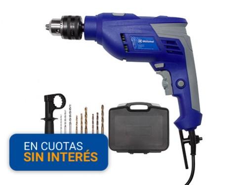 Taladro Motomel 13mm 550w MT-1K con Kit