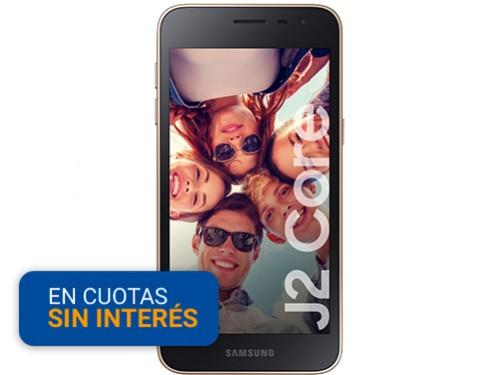 "Celular Libre Samsung J2 Core 5""-1/16GB-8MP 4G Bronce"