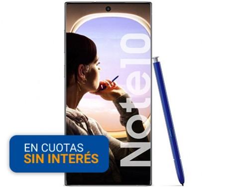 """Celular Libre Samsung Note 10 6,3"""" 8/256 Plat OP"""