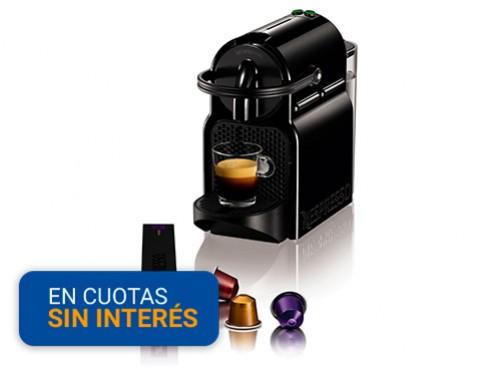 Máquina de café Nespresso Inissia Black