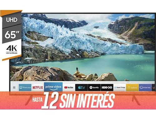 "Smart Tv 65"" 4K Ultra HD RU7100 SAMSUNG"