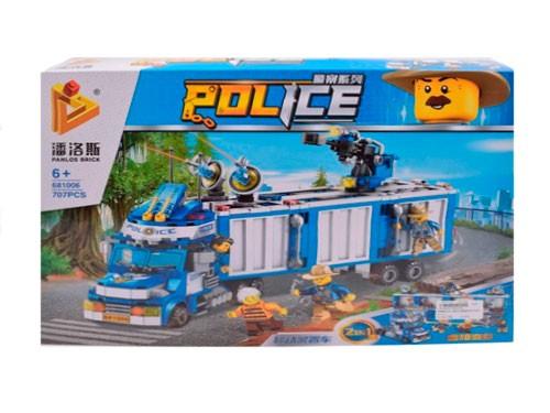 Panlos Brick Bloques de Policía 707 pcs 1825959