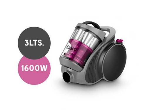 Aspiradora As-3230 1600w 3230 3 Litros Sin Bolsa Yelmo