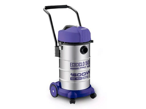 Aspiradora As-3350 1600w 50lts Agua Polvo Filtro Hepa Yelmo