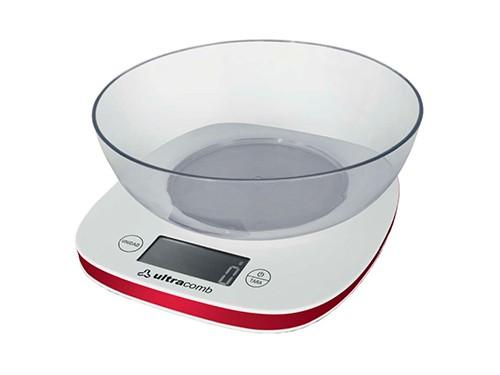 Balanza De Cocina Digital Con Bowl Lcd Bl-6002 Ultracomb