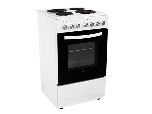 Cocina Eléctrica Cch052b 4 Hornallas Grill 50cm Atma