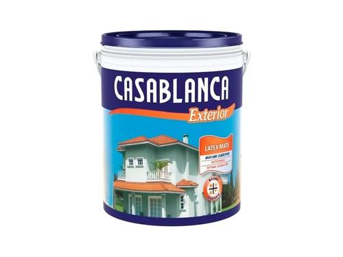 Pintura Látex Exterior Casablanca Classic 4 Litros