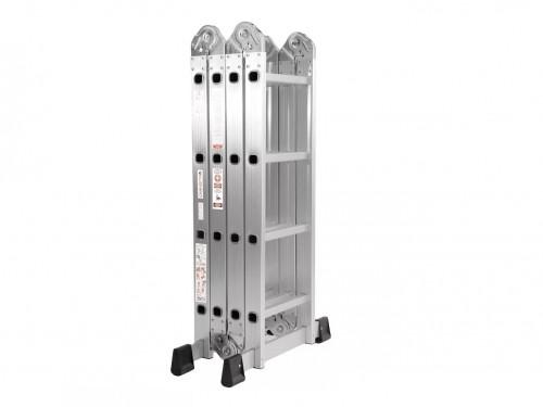 Escalera Aluminio 4x4 Articulada Plegable Multifuncion Reforzado