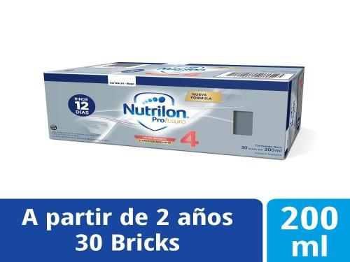Nutrilon Leche Infantil x200ml Etapa 4 Profutura Caja x30u