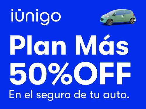 Seguro contra terceros completo + granizo para tu auto con 50% OFF.