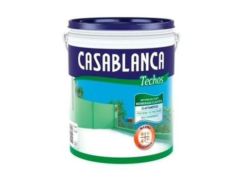 Membrana elástica impermeabilizante Casablanca Techos 4 litros