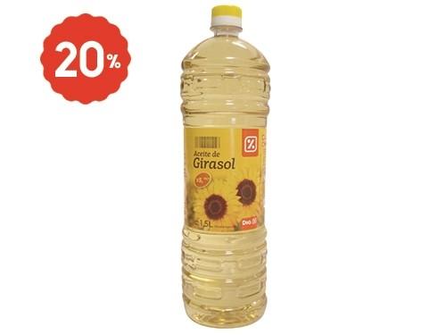 Aceite de Girasol DIA 1,5 Lts.