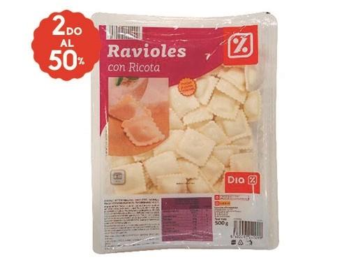 2do al 50% Ravioles DIA 500 Gr.