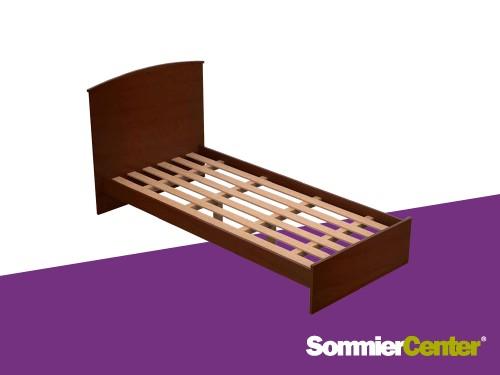 Cama 1PL Fiona Squad Chocolate