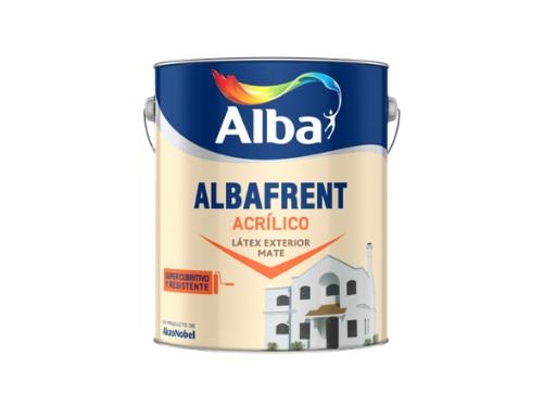 Pintura Latex Acrilico Albafrent Exterior x 20 lts Alba