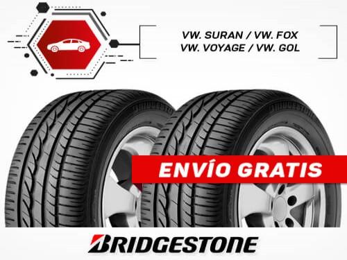 KIT x2 Neumáticos 195/55R15 85H TURANZA ER30 BRIDGESTONE 18 Cuotas