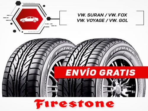 KIT x2 Neumáticos 195/55R15 85H FIREHAWK 900 FIRESTONE 18 Cuotas