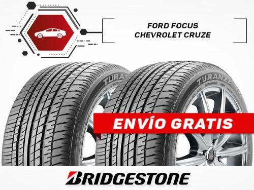 KIT x2 Neumáticos 215/50R17 91V TURANZA T001 BRIDGESTONE 18 Cuotas