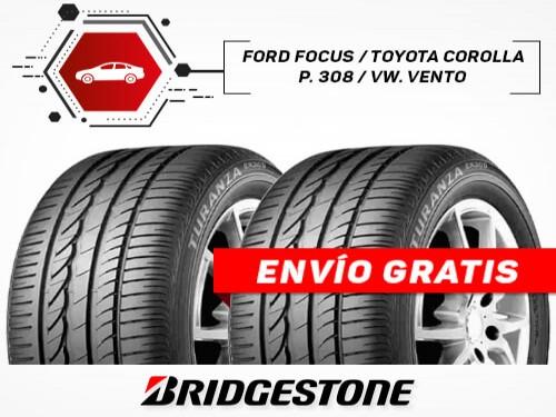 KIT x2 Neumáticos 205/55R16 91V TURANZA ER300 BRIDGESTONE 18 Cuotas