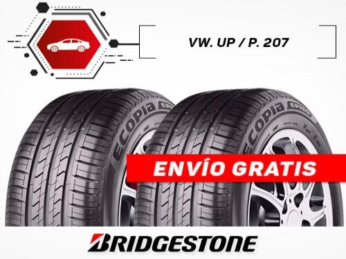 KIT x2 Neumáticos 185/60R15 88H ECOPIA EP150 BRIDGESTONE 18 Cuotas
