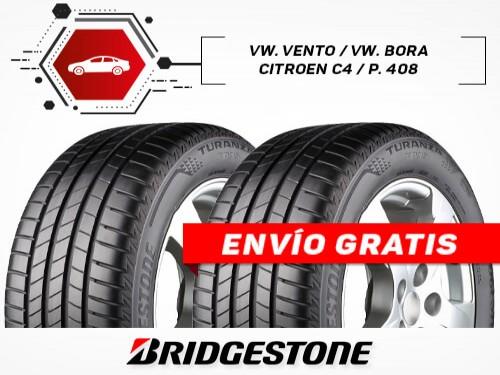 KIT x2 Neumáticos 225/45R17 91W TURANZA T005 BRIDGESTONE 18 Cuotas
