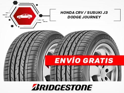 KIT x2 Neumáticos 225/65R17 T DUELER H/P SPORT BRIDGESTONE 18 Cuotas