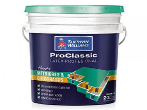 Proclassic Latex Interior y Cielorrasos 20Lts