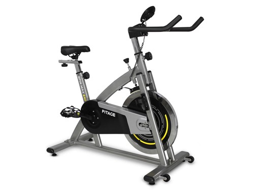Bicicleta indoor residencial Fitage Spin Max 640 hasta 120 kg.