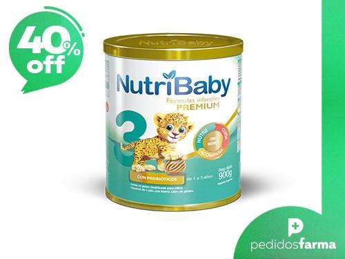 Nutribaby Premium 3 - Formula en Polvo: 1 Lata de 900gr