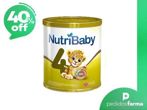 Nutribaby Premium 4 - Formula en Polvo: 1 Lata de 900gr