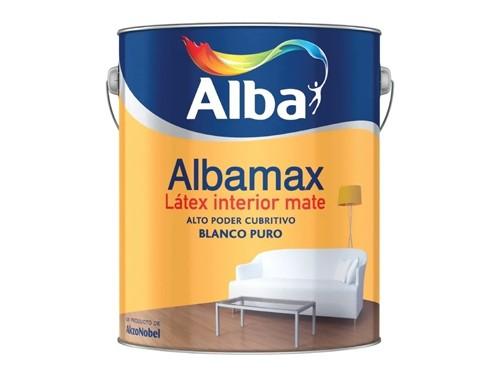 Pintura látex para interior mate Albamax 10 litros