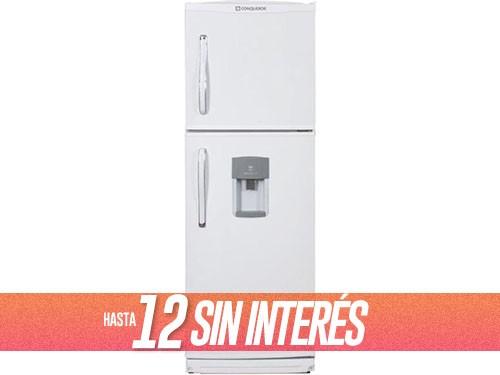 Heladera Con Freezer 364 Lts 1800BDa Blanco CONQUEROR