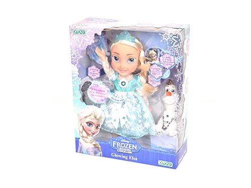 Muñeca Frozen Glowing Elsa Canta Y Se Ilumina Disney