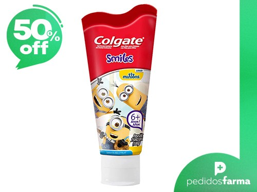 Crema Dental Colgate Smile Minions +6 años 75ml