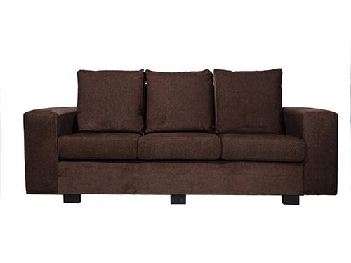 Sillon Sofa de 3 Cuerpos Marbella Tela O Ecocuero