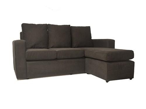 Sofa Sillón De 3 Cuerpos Esquinero Tela O Eco Cuero Sophie