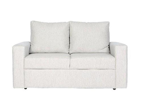 Sillon Sofa Moderno de 2 Cuerpos Gris Sendai