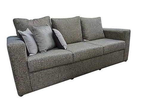 Sillon Sofa Moderno de 3 Cuerpos Sendai Gris